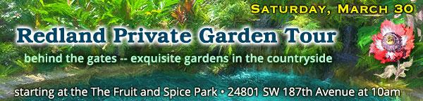 Redland Private Garden Tour - South Dade Garden Club