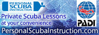 Personal Scuba Instruction - Private Scuba Lessons - Robin Burr PADI dive instructor