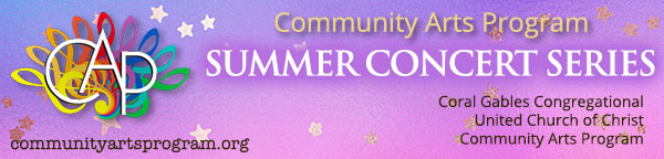 Community Arts Program Summer Concert Series