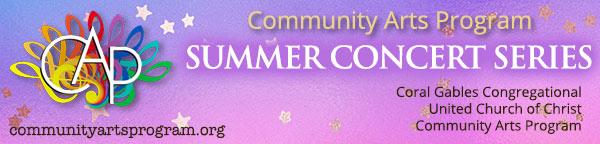Community Arts Program Summer Concert Series