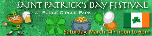 Saint Patrick's Day Festival at Ponce Circle