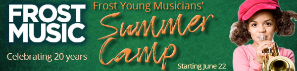 Frost Young Musicians' Summer Camp